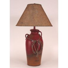 Coastal Lamp 3 Handle Pot W/ Lasso