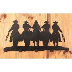 Coastal Lamp Iron Cowboy Coat Rack