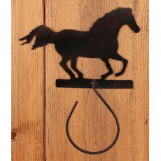 Coastal Lamp Iron Running Horse Hand Towel Holder