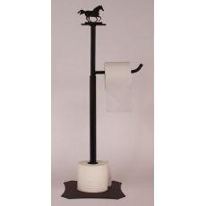 Coastal Lamp Iron Running Horse Toilet Paper Holder