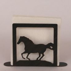 Coastal Lamp Iron Running Horse Napkin Holder