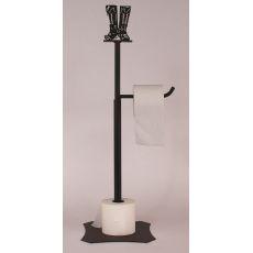 Coastal Lamp Iron Boot Toilet Paper Holder