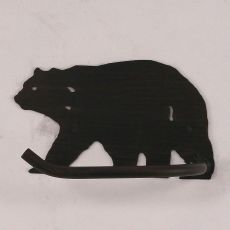 Rustic Iron Arm Bear Toilet Paper Holder