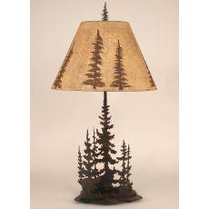 Coastal Lamp Iron Feather Tree