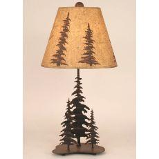 Coastal Lamp Small Iron Feather Tree