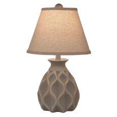 Coastal Lamp Short Indented Diamond Accent Lamp