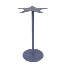 Coastal Lamp Drink Table W/ Starfish Top