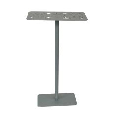 Coastal Lamp Rectangle Drink Table w/ 3 Sand Dollar Top(DT08)
