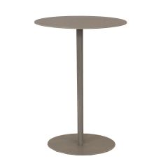 Coastal Lamp Drink Table W/ Oval Top