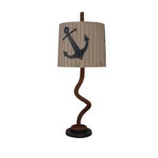 Coastal Lamp Manila Rope Table Lamp