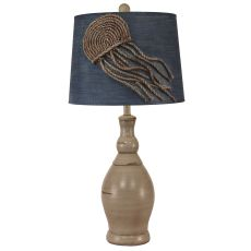 Jellyfish Lamp With Slender Neck Casual Pot