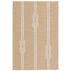 Liora Manne Capri Ropes Indoor/Outdoor Rug Natural 24 in. x 60 in.