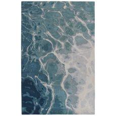 "Liora Manne Corsica Water Indoor Rug Blue 8'3""X11'6"""