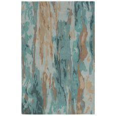 "Liora Manne Corsica Waterfall Indoor Rug Blue 24""X7'6"""