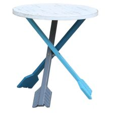 Pocahontas Tri-Color Arrow Accent Table