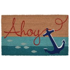 "Liora Manne Natura Anchor Indoor/Outdoor Mat  18""X30"""