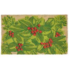 "Liora Manne Natura Hollyberries Indoor/Outdoor Mat Natural 18""X30"""