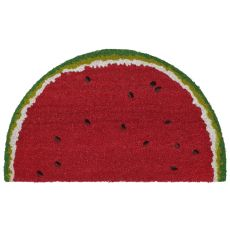 "Liora Manne Natura Watermelon Indoor/Outdoor Mat Red 18""X30"" 1/2 RD"