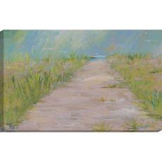 Beach Path Canvas-Oils