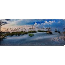 Beach Sunset Canvas-Oils
