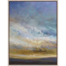 Coastal Clouds I Canvas-Oils