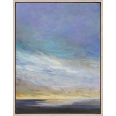 Coastal Clouds II Canvas-Oils
