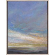 Coastal Clouds III Canvas-Oils