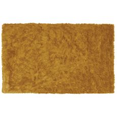 Sensual Gold Shag Rug, 5 X 7.6