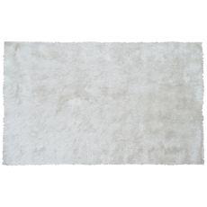 Sensual White Shag Rug, 7.6 X 9.6