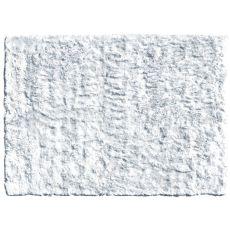 Sensual Silver Shag Rug, 16 X 27