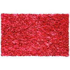 Shaggy Raggy Red Shag Rug, 2.8 X 4.8