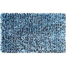 Shaggy Raggy Blue/Brown Shag Rug, 4.7 X 7.7
