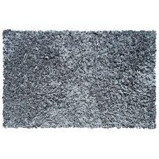 Shaggy Raggy Grey Shag Rug, 22 X 34
