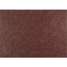 Lazo Rust Synthetic Rug, 5.3 X 7.7