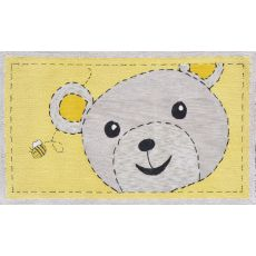 Bee-Z-Bear Hook Rug, 2.8 X 4.8