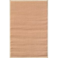 Beige Border Tan Sisal Sisal Rug, 5 x 8