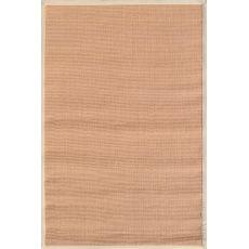Beige Border Tan Sisal Sisal Rug, 8 x 10