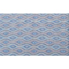 Nazar Blue Hook Rug, 7.6 X 9.6