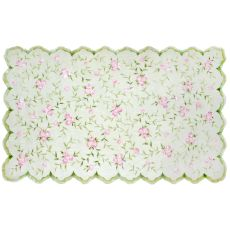 Sweet Rose Hook & Flannel Rug, 4.7 X 7.7