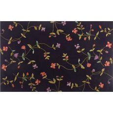 Hyde Park Floral Hook Rug, 5.3 X 8.3