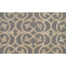 Bellagio Taupe Tufted Rug, 10 X 13