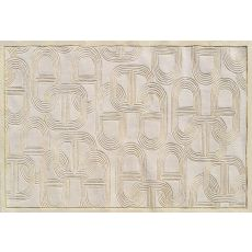 Claudia Cream Tufted Rug, 5 X 8