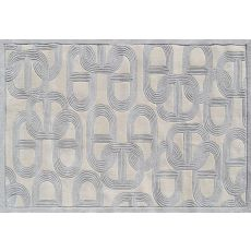 Claudia Gray Tufted Rug, 8 X 11