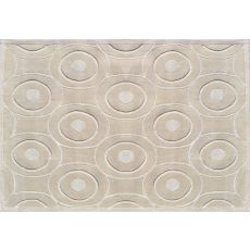 Cicero Cream Tufted Rug, 8 X 11