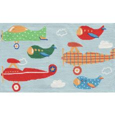 Air Show Off Hook Rug, 2.8 X 4.8