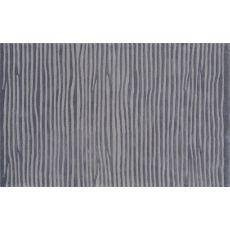 Wavy Gray Tufted Rug