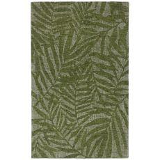 """Liora Manne Savannah Olive Branches Indoor Rug Green 24""""X7'6"""""""