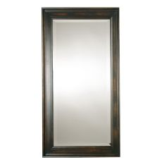 Uttermost Palmer Dark Wood Mirror