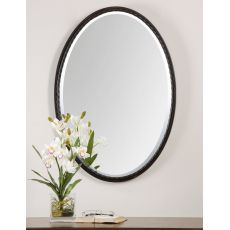 Uttermost Casalina Oil Rubbed Bronze Oval Mirror