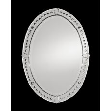 Uttermost Graziano Frameless Oval Mirror